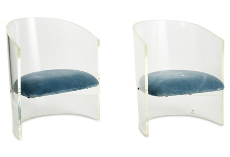 Lucite-Chairs-Blue-Velvet-Seats-Decorating-with-Lucite-acrylic-one-kings-lane
