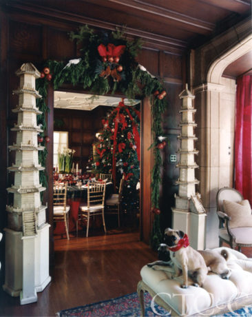 Designers Decorate for Christmas