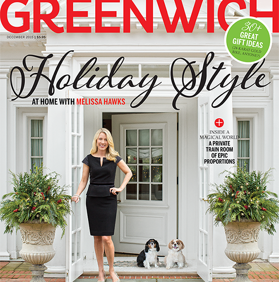 Melissa Hawks Greenwich Magazine Christmas 2015-2