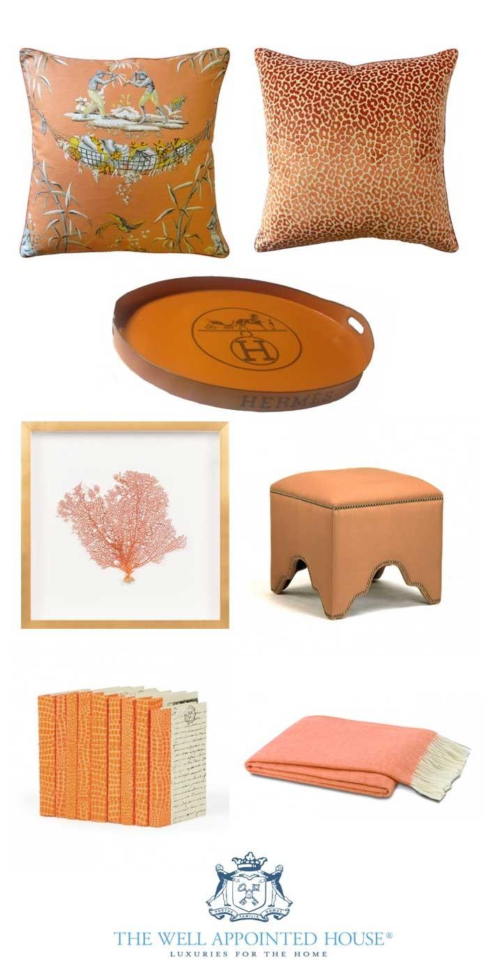 Orange-Decor-For-The-Home