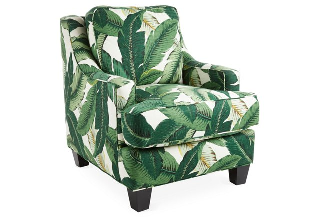 Current Obsession Banana Leaf Patterns The Well Appointed House Blog Living The Well