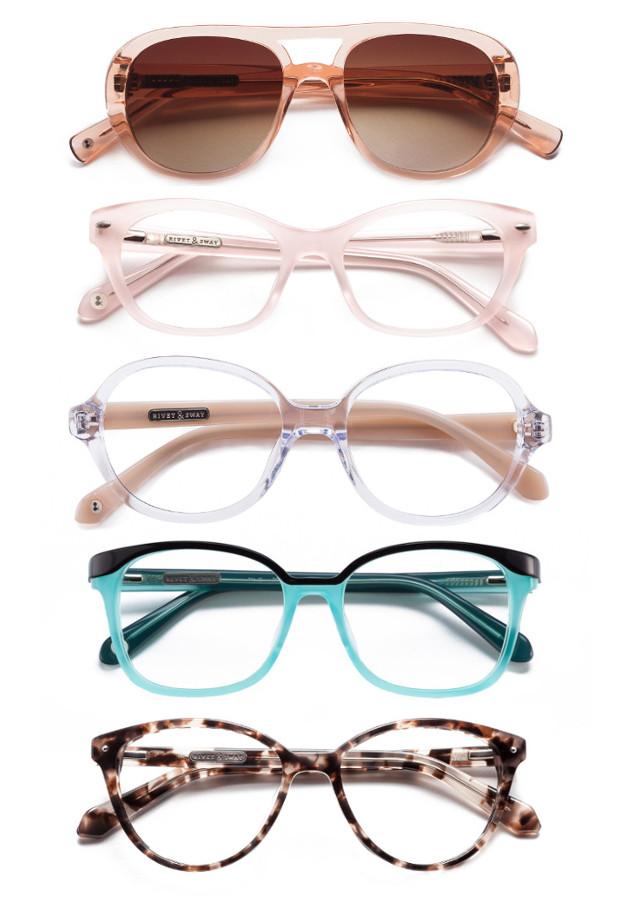 Glasses Frames On Trend : Eyewear Trends: How to Rock Pastel Eyewear from Rivet ...