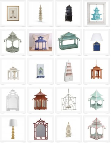Pagoda-Inspired Home Accents