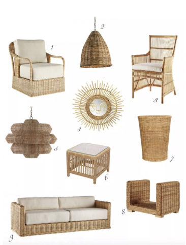 Our Favorite Rattan Furniture & Accessories