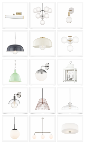 New Collection! Mitzi by Hudson Valley Lighting