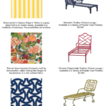 Spotlight on Schumacher Outdoor Fabrics for Summer!