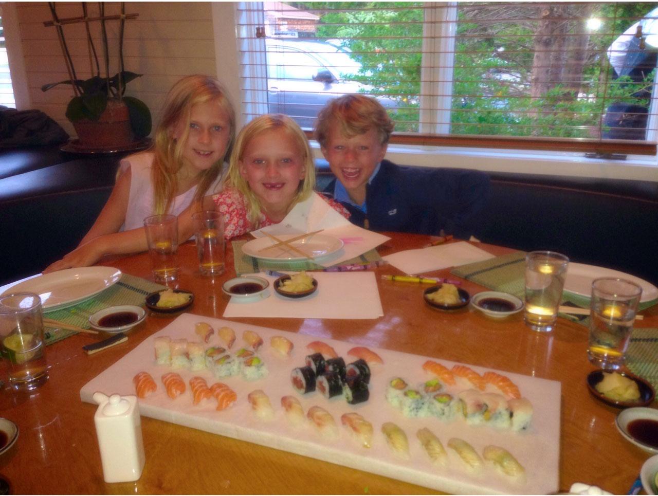 Shuko-sushi Melissa Hawks