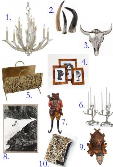 Top Ten Fabulous Items for the Ski House!