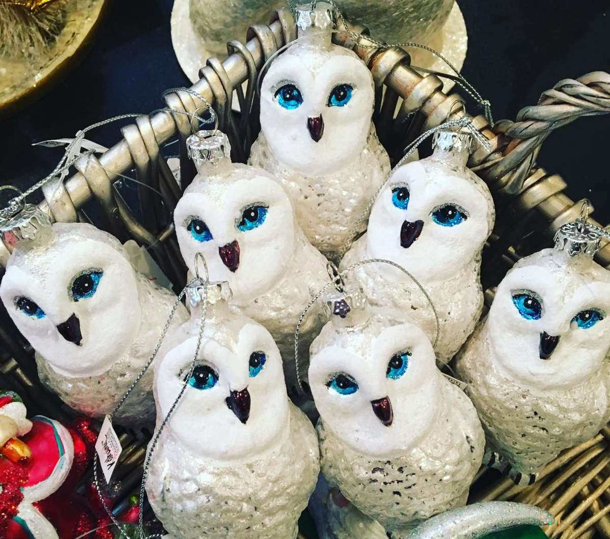 snowy-owl-christmas-ornament-well-appointed-house-instagram