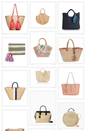 Wicker, Straw and Raffia Bags to Love this Summer!