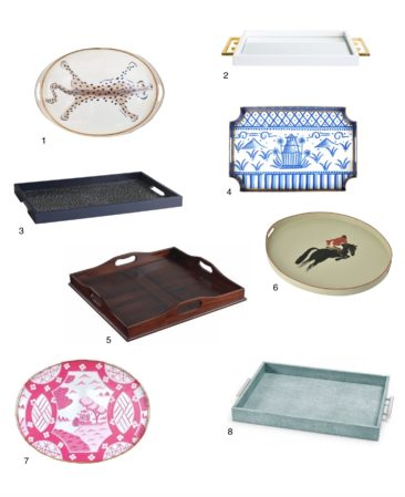 Stylish Trays for Breakfast in Bed