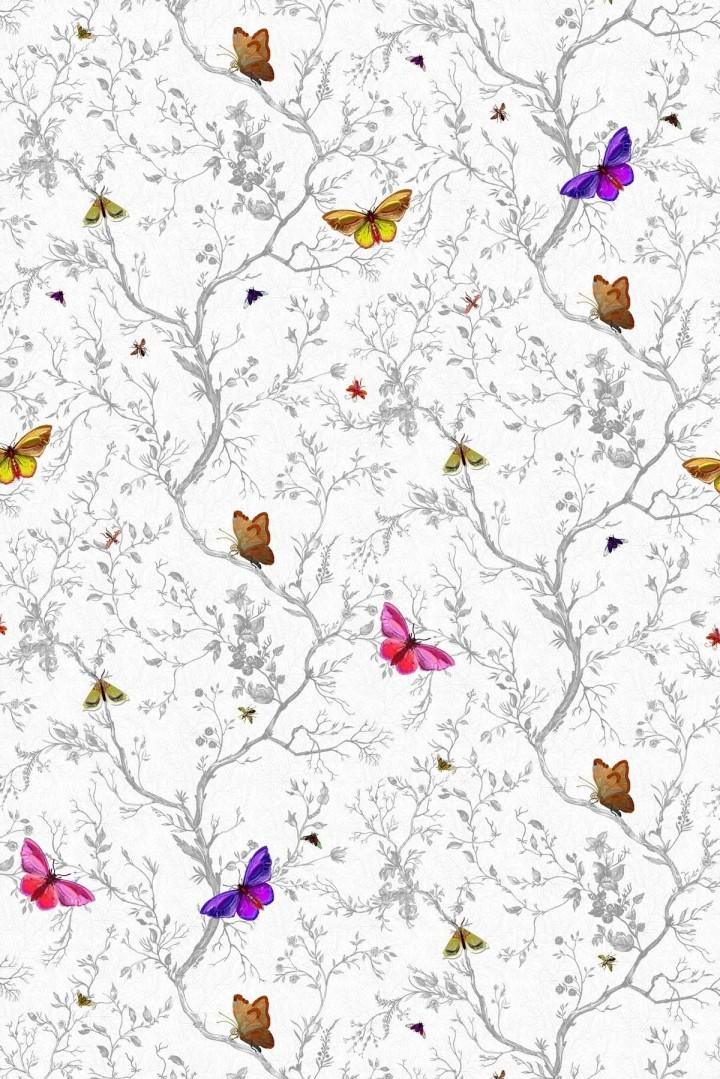 The Butterflies Wallpaper By Timrous Beasties