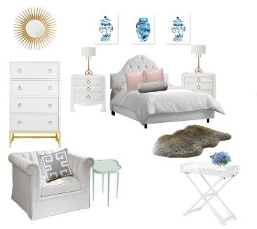 The Feminine Bedroom