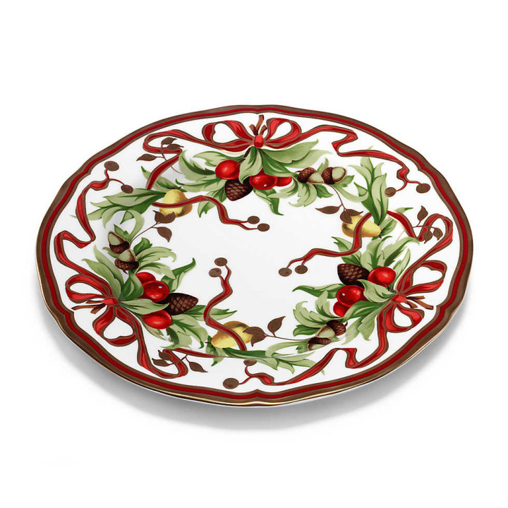 Tiffany Holiday Dinner Plate