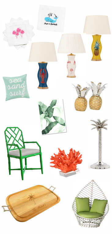 Spring 2016 Design Trend: Tropical Decor