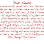 Santa, A Word…