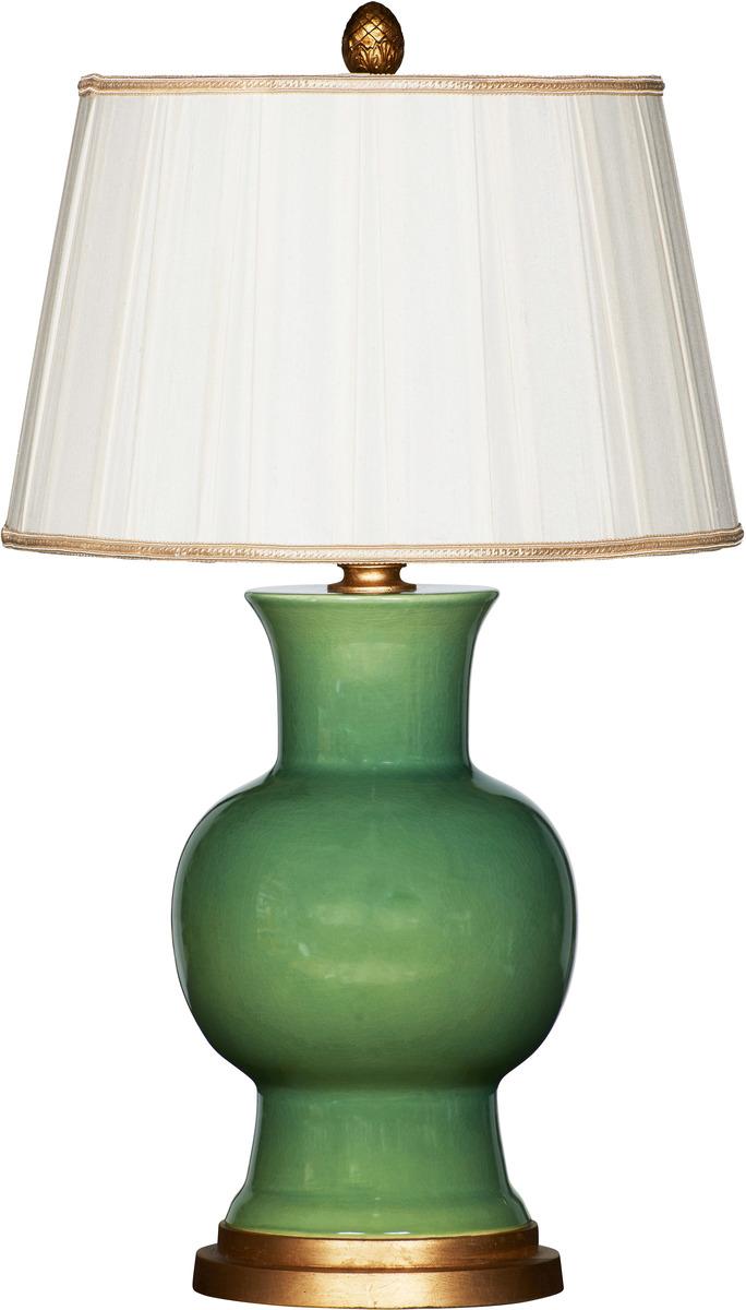 Verde Green Ceramic Lamp