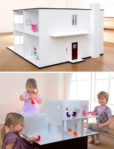 Architectural Model-Making & Modern Dollhouses