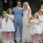 Fashion's Royal Wedding: Kate Moss Weds Jamie Hince in Galliano