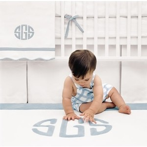 Imagine the little Prince of Cambridge in this clean, elegant nursery from www.wellappointedhouse.com
