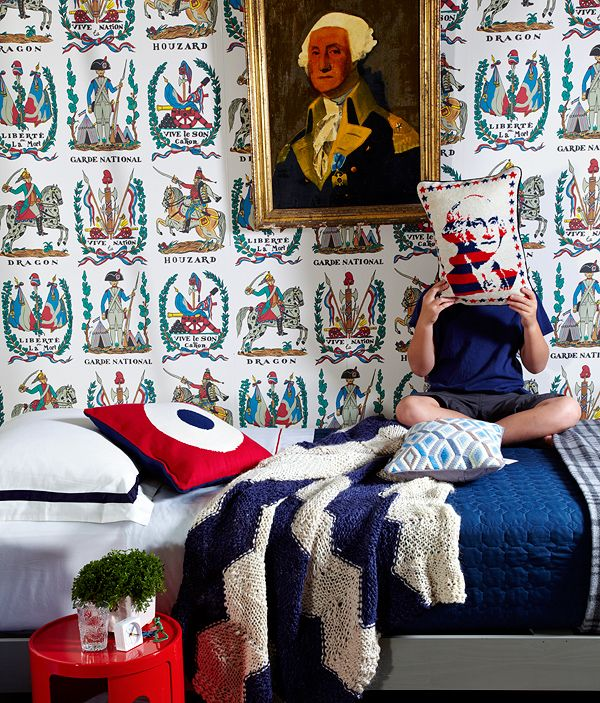 10 Small Guest Room Ideas That Are Larger Than Life: Our Top 10 Favorite Kid-Friendly Wallpapers