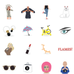 Seen and Heard: Harper's Bazaar Releases a Fashion-Lovers Emoji App!