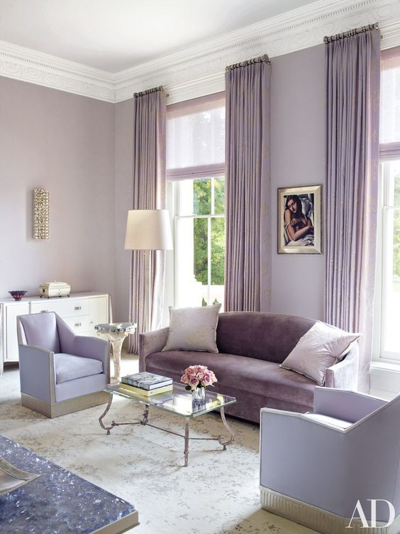 Lavish Lavender | The Well Appointed House Design, Fashion ...