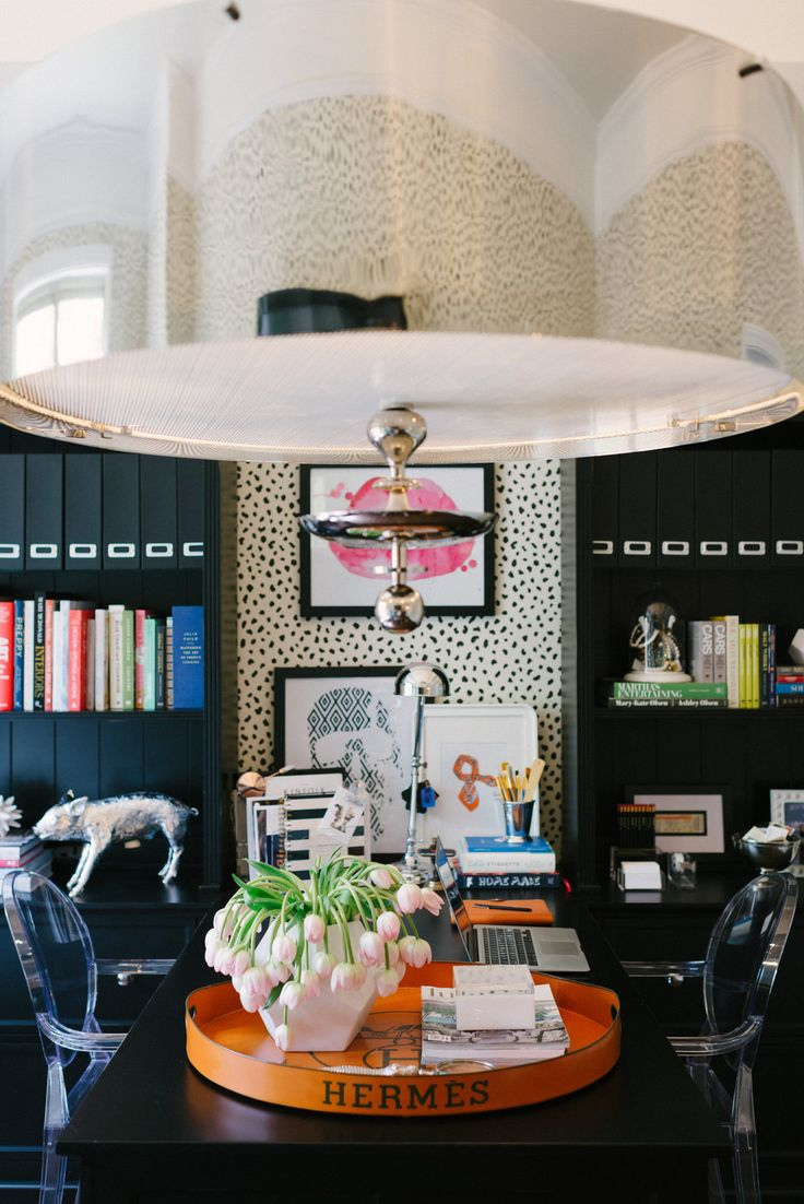 7 glamorous home offices the well appointed house blog living the well appointed life. Black Bedroom Furniture Sets. Home Design Ideas