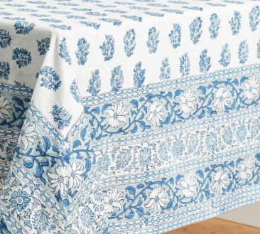Today's Find: Block Print Table Linens