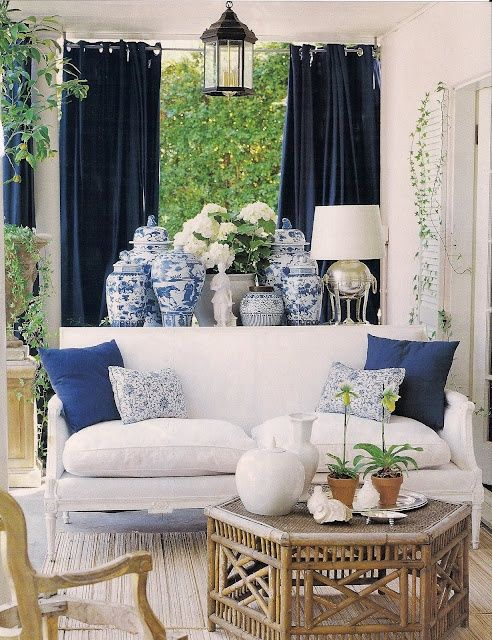blue-and-white-porcelain-side-table