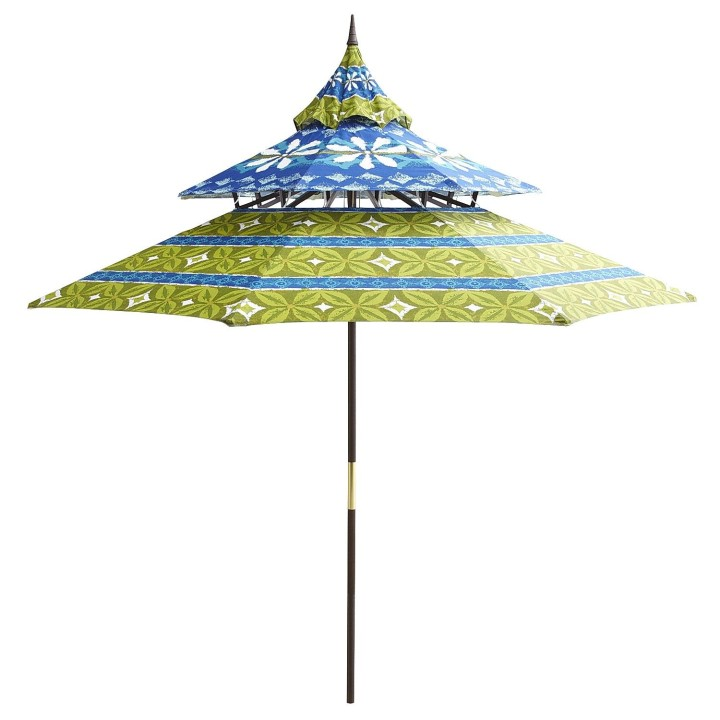 Blue Fl Paa Umbrella