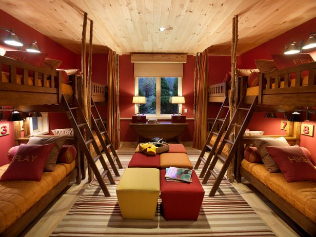 Unique Decor Get Inspired Bunk Rooms Creative Stairway Bannisters Closet Conversion And