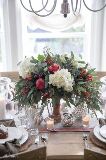 Fabulous Faux Florals for the Holidays