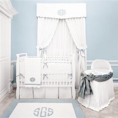Nursery crib bedding fit for the royal prince