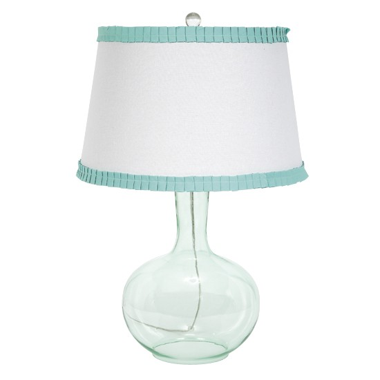 clear_turquoise_glass_table_lamp_with_white_and_turquoise_shade