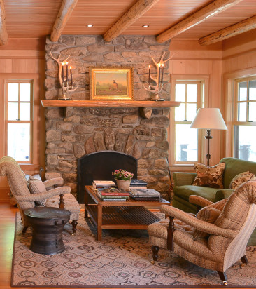Lake House Chic in Blooming Grove, PA: Horton Design Associates