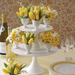 Easter Fun with Cake Stands and Birds Nests