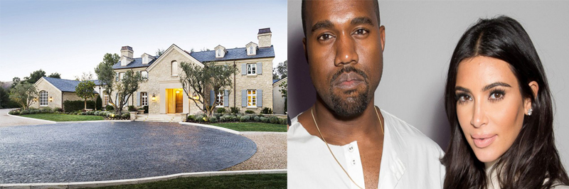Tabloid Queen Kim Kardashian And Rap Icon Kanye West Are Purchasing This 8000 Square Foot Estate In Hidden Hills For A Cool 22 Million