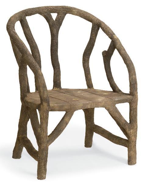 faux_bois_arbor_chair