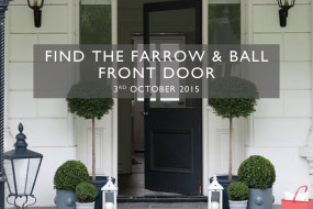 Sponsored Post: Check out the Find the Farrow & Ball Front Door Scavenger Hunt in Greenwich and Westport on October 3rd!