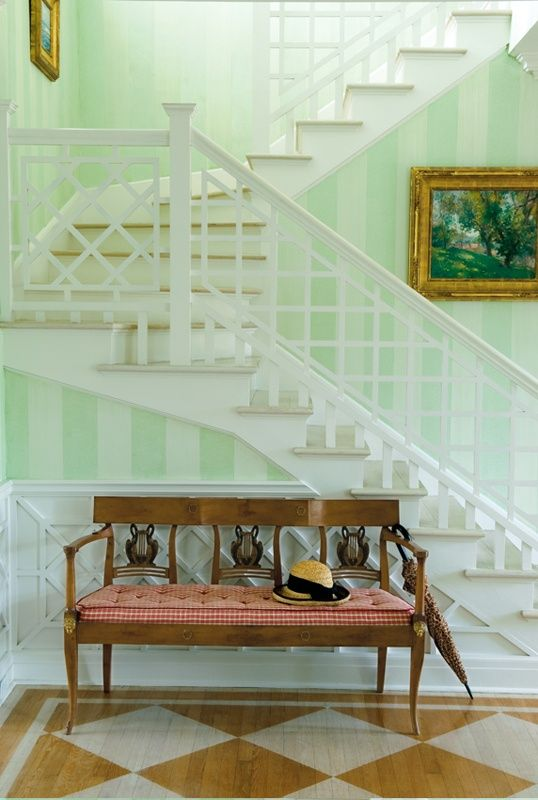 Foyer by Leta Austin Foster & Associates