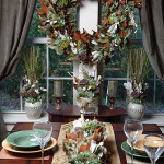 Thanksgiving Wreaths, Centerpieces and Mantlepieces for Elegant Holiday Entertaining!