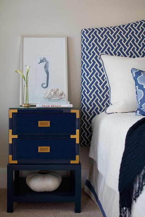 White End Table Night Stands