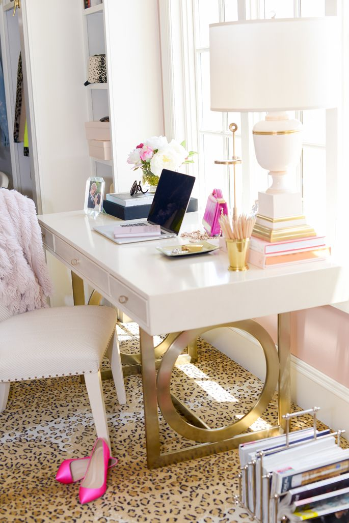7 Glamorous Home Offices The Well Appointed House Blog Living The