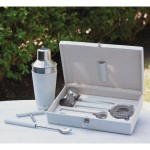 Gift Sets For Christmas: Boxed Leather Bar Tool Sets