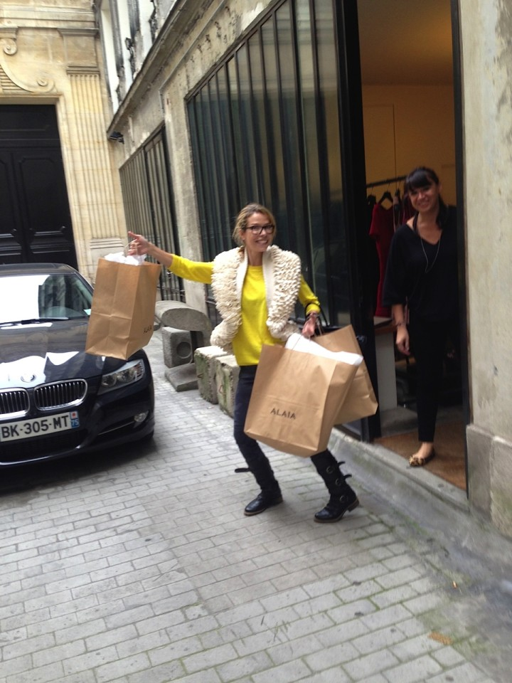 "Carina Crain Leaving Alaia with some ""golden eggs""!"