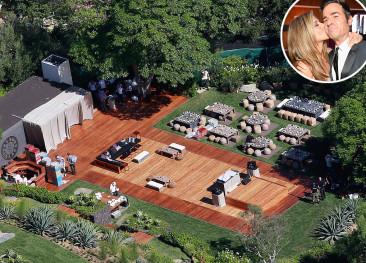 House Tour: Jennifer Aniston & Justin Theroux's Modern Bel Air Mansion