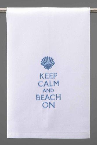 keep-calm-and-beach-on-hand-towel-set-of-4