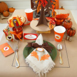Setting the Thanksgiving Table for Kids!