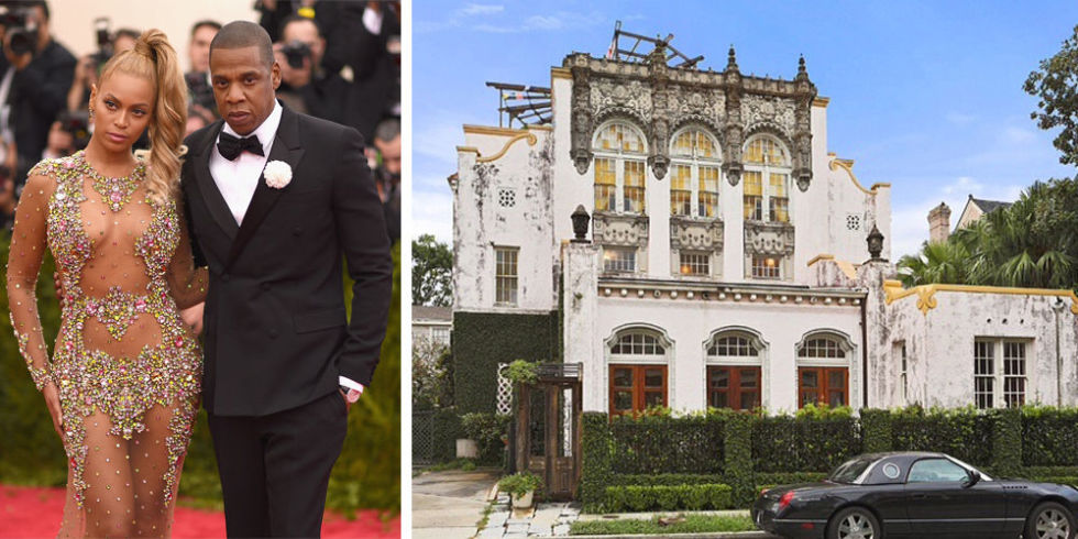House Tour The Former New Orleans Church Beyonce Jay Z The